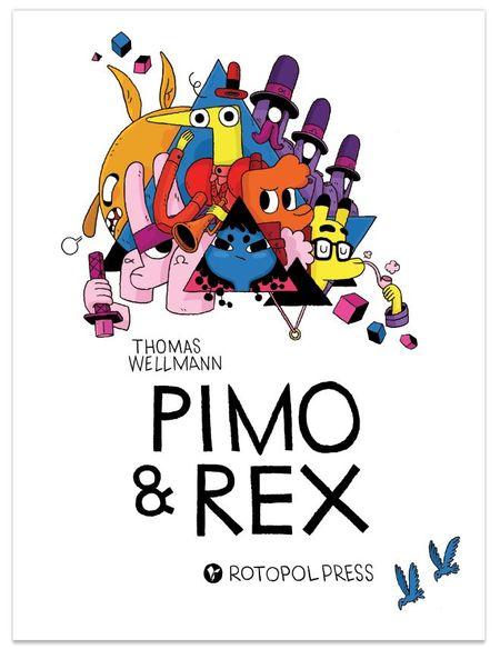 Pimo & Rex - Das Cover