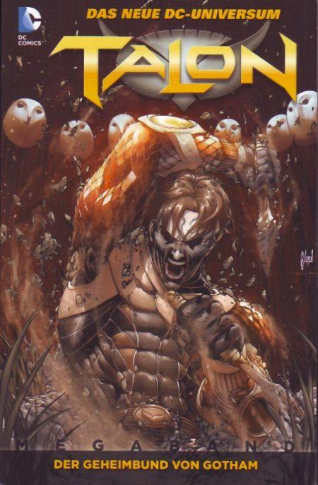 Talon - Megaband 1: Der Geheimbund von Gotham - Das Cover