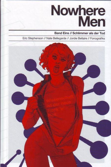 Nowhere Men Band 1: Schlimmer als der Tod - Das Cover