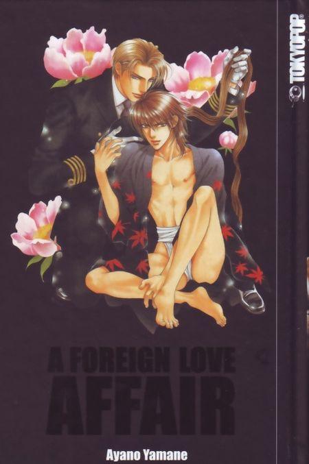 A Foreign Love Affair Perfect Edition - Das Cover