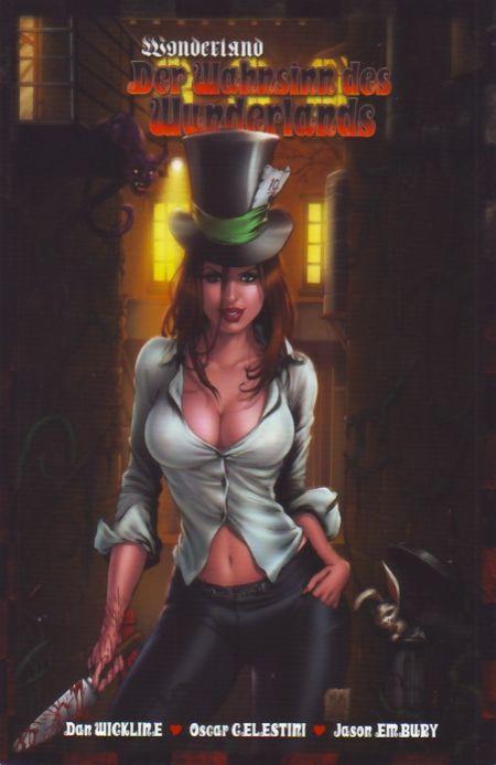 Wonderland 9: Der Wahnsinn des Wonderlands - Das Cover