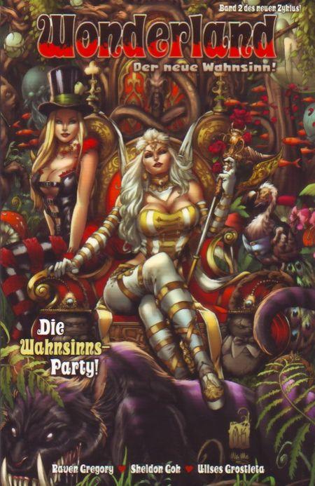 Wonderland - Der neue Wahnsinn 2: Die Wahnsinns-Party! - Das Cover