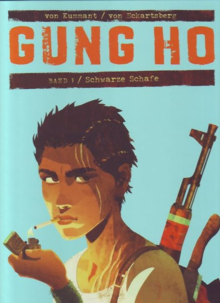 Gung Ho 1: Schwarze Schafe - Das Cover