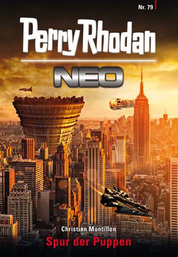 Perry Rhodan Neo 79: Spur der Puppen - Das Cover