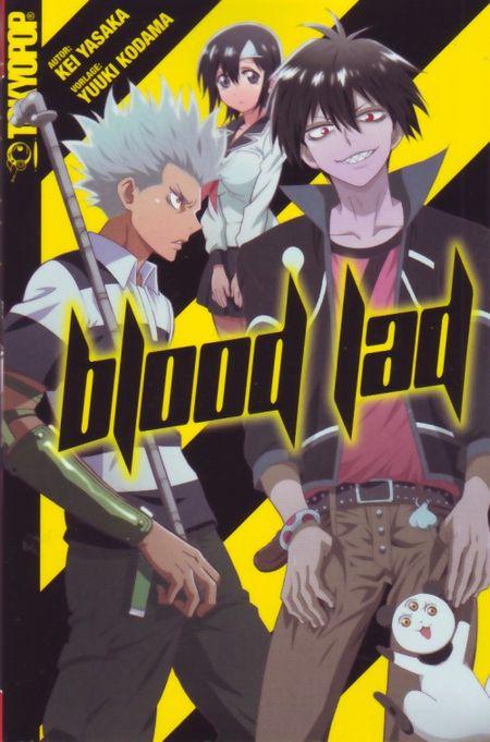 Blood Lad Novel - Das Cover