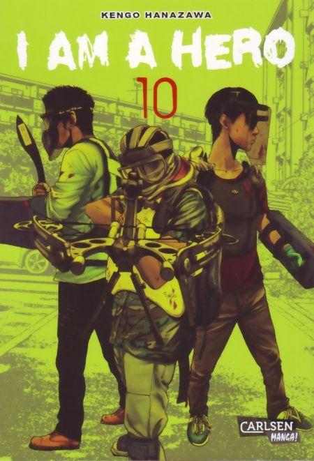I am a Hero 10 - Das Cover