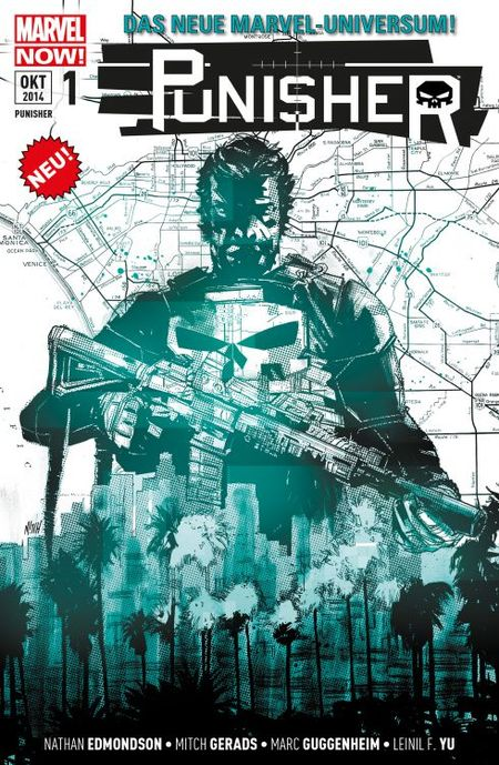 Punisher 1 - Memento Mori - Das Cover