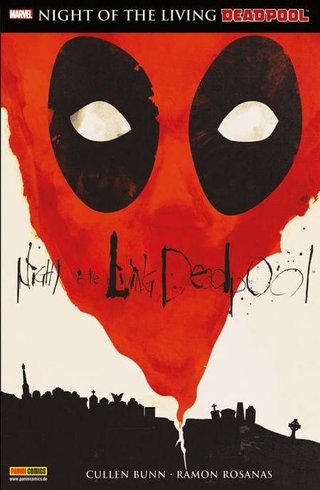 Night of the living Deadpool - Das Cover