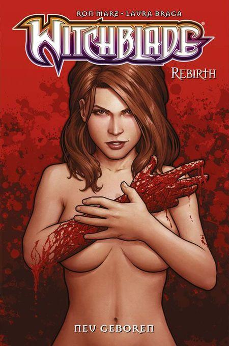 Witchblade Rebirth 4: Neu geboren - Das Cover