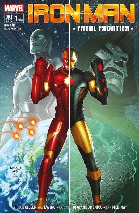 Iron Man: Fatal Frontier 1 - Das Cover