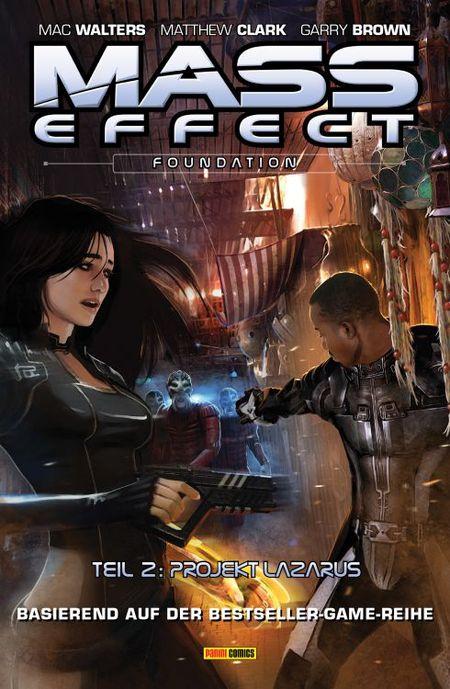 Mass Effect 6: Foundation 2 - Projekt Lazarus - Das Cover