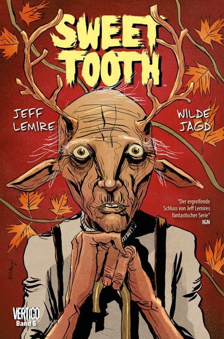 Sweet Tooth 6: Wilde Jagd - Das Cover