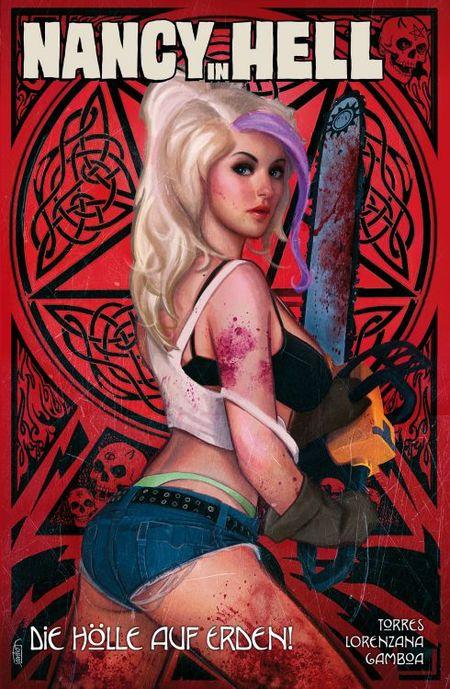 Nancy in Hell 2: Die Hölle auf Erden! - Das Cover