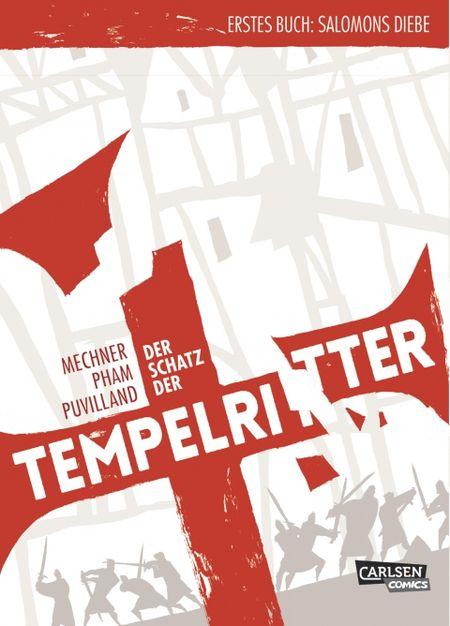 Der Schatz der Tempelritter 1: Salomons Diebe - Das Cover