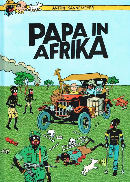 Papa in Afrika - Das Cover
