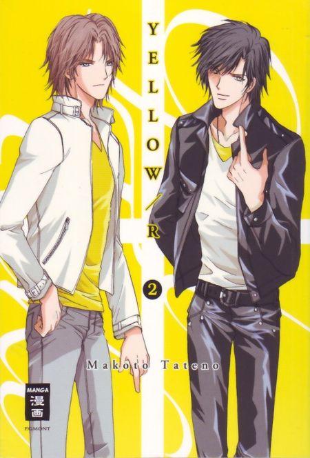 Yellow R 2 - Das Cover