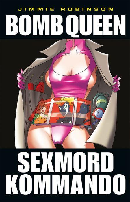 Bomb Queen 4: Sexmord-Kommando - Das Cover