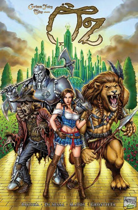 Grimm Fairy Tales präsentiert OZ 1 - Das Cover