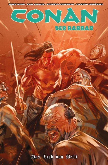 Conan der Barbar 4: Das Lied von Belit - Das Cover