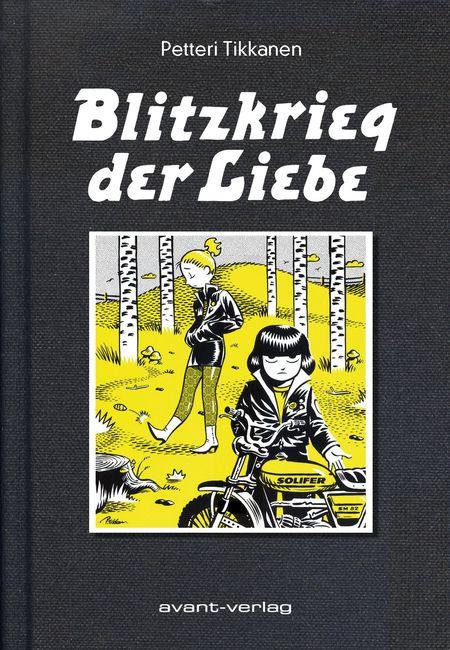 Blitzkrieg der Liebe - Das Cover