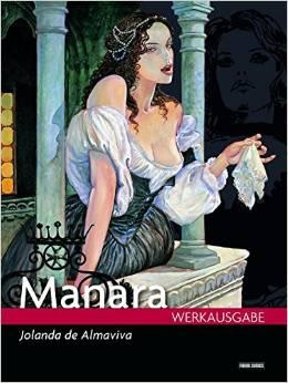 Manara Werkausgabe 14: Jolanda de Almaviva - Das Cover