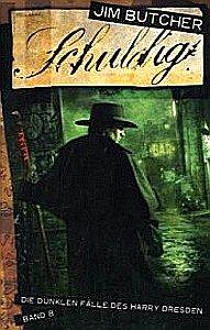 Schuldig: Die dunklen Fälle des Harry Dresden 8 - Das Cover