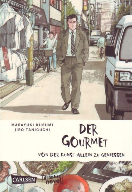 Der Gourmet: Von der Kunst allein zu genießen - Das Cover