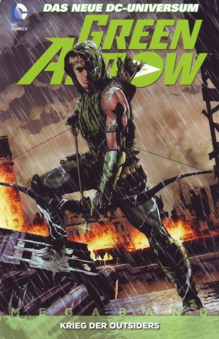 Green Arrow Megaband 2: Krieg der Outsiders - Das Cover