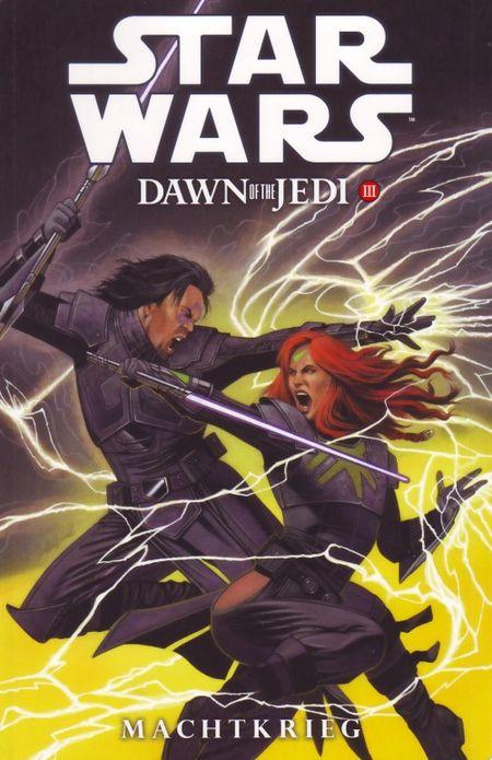 Star Wars Sonderband 82 – Dawn of the Jedi 3: Machtkrieg - Das Cover