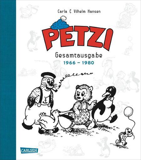 Petzi: Die gesammelten Reiseabenteuer 1955-1959 - Das Cover