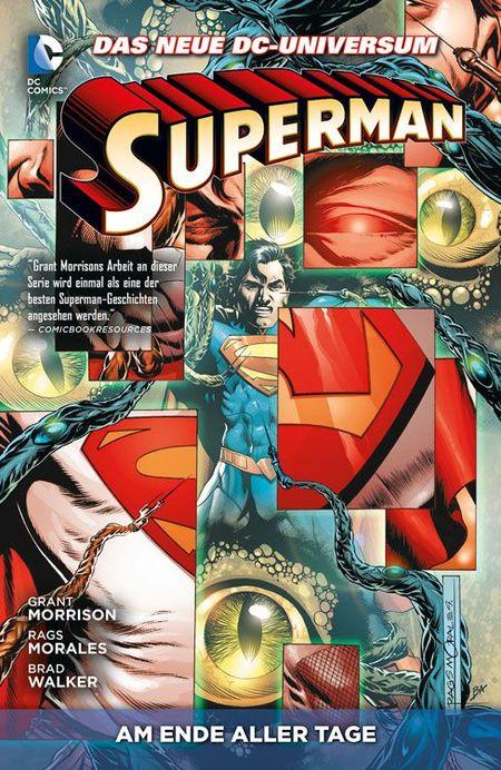 Superman 3: Am Ende aller Tage - Das Cover