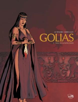 Golias 3: Das Jugendelixier - Das Cover