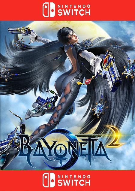 Bayonetta 2 - Der Packshot