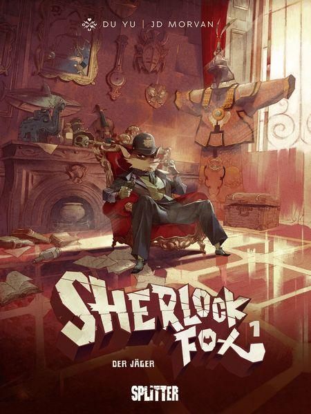 Sherlock Fox 1: Der Jäger - Das Cover