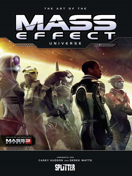 The Art of the Mass Effect Universe - Das Cover