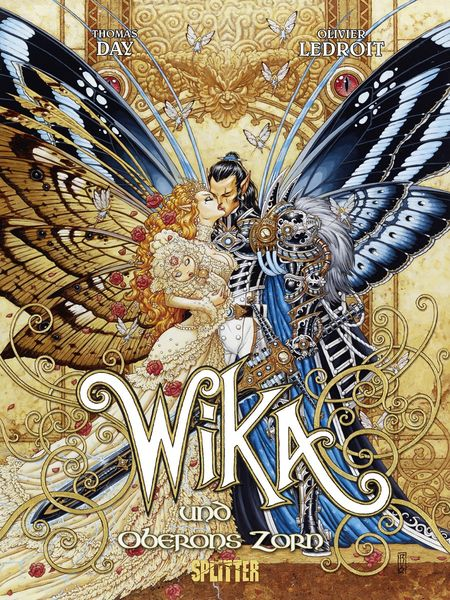 Wika 1: Wika und Oberons Zorn - Das Cover