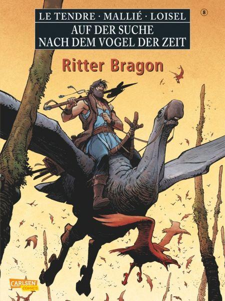Auf der Suche nach dem Vogel der Zeit 8: Ritter Bragon - Das Cover