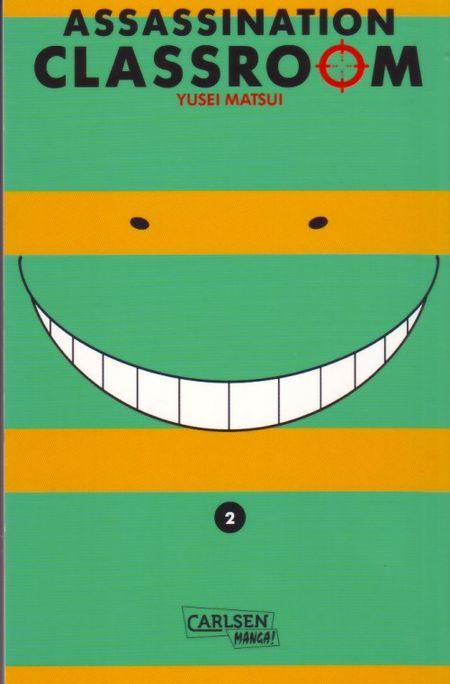 Assassination Classroom 2 - Das Cover