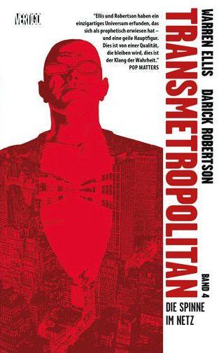 Transmetropolitan 4 - Das Cover