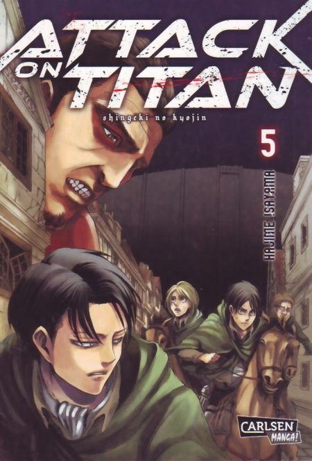 Attack on Titan 5 - Das Cover