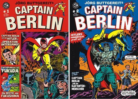 Captain Berlin 1 & 2 - Das Cover