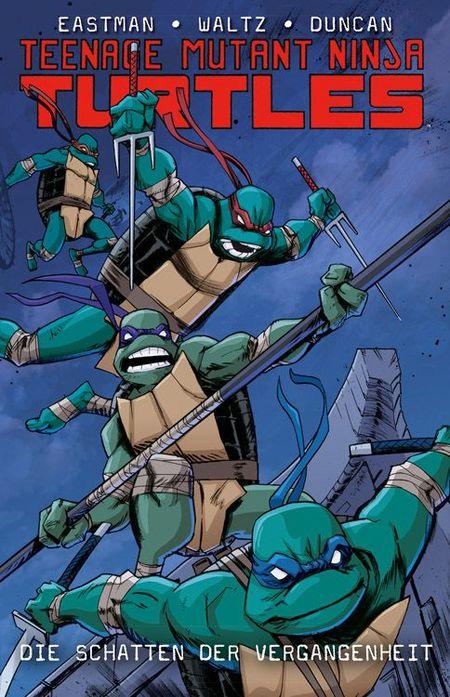 Teenage Mutant Ninja Turtles 4: Die Schatten der Vergangenheit - Das Cover