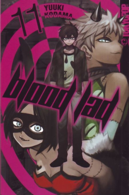 Blood Lad 11 - Das Cover