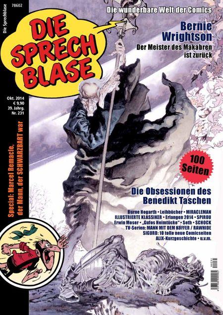 Die Sprechblase 231 - Das Cover