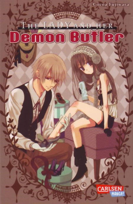 The Lady and her Demon Butler - Das Cover