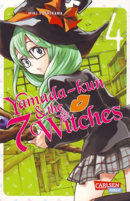 Yamada-kun & the 7 Witches 4 - Das Cover