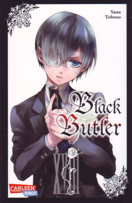 Black Butler 18 - Das Cover