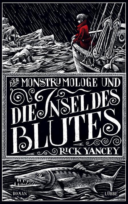 Der Monstrumologe und die Insel des Blutes - Das Cover