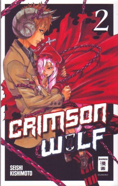 Crimson Wolf 2 - Das Cover