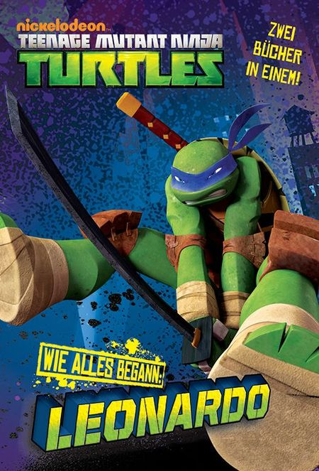 TV-Comic-Nickelodeon: Teenage Mutant Ninja Turtles Band 1 WIE-ALLES-BEGANN: Leonardo/Donatello - Das Cover